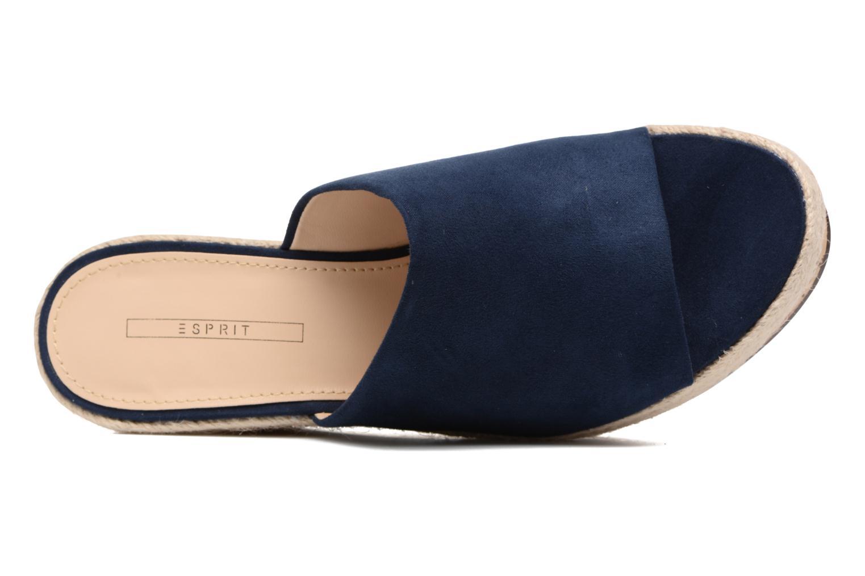 Clogs & Pantoletten Esprit Fary mule blau ansicht von links