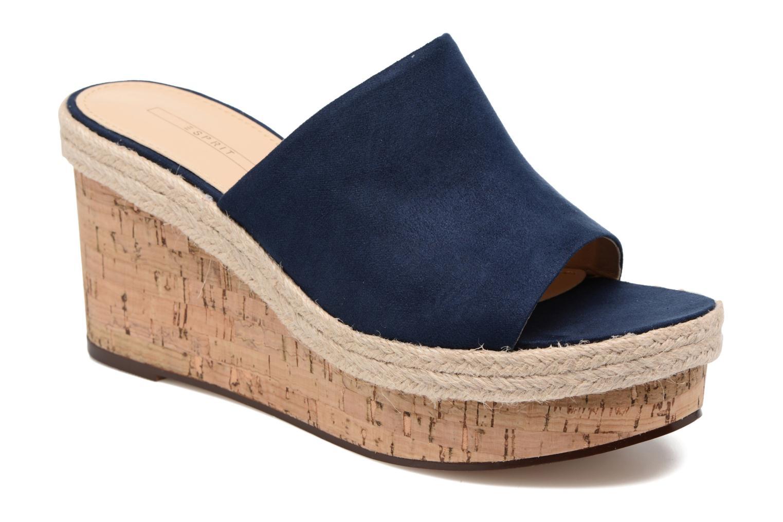 Clogs & Pantoletten Esprit Fary mule blau detaillierte ansicht/modell