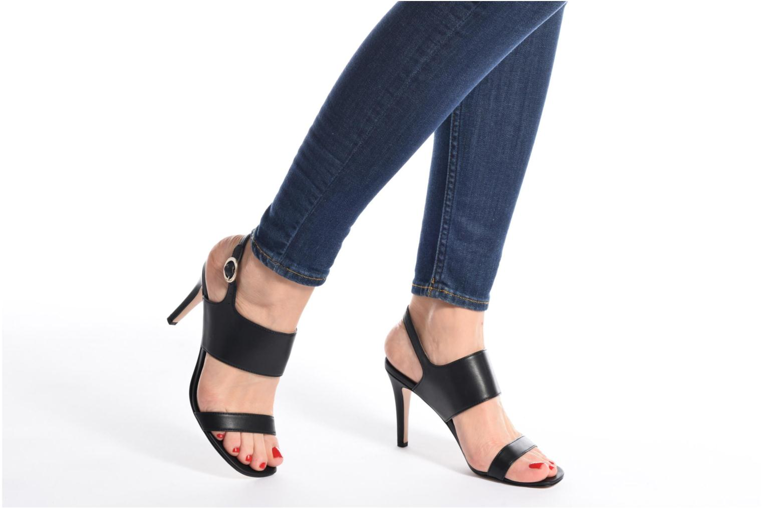 Sandals Esprit Chany Hi Sandal Black view from underneath / model view