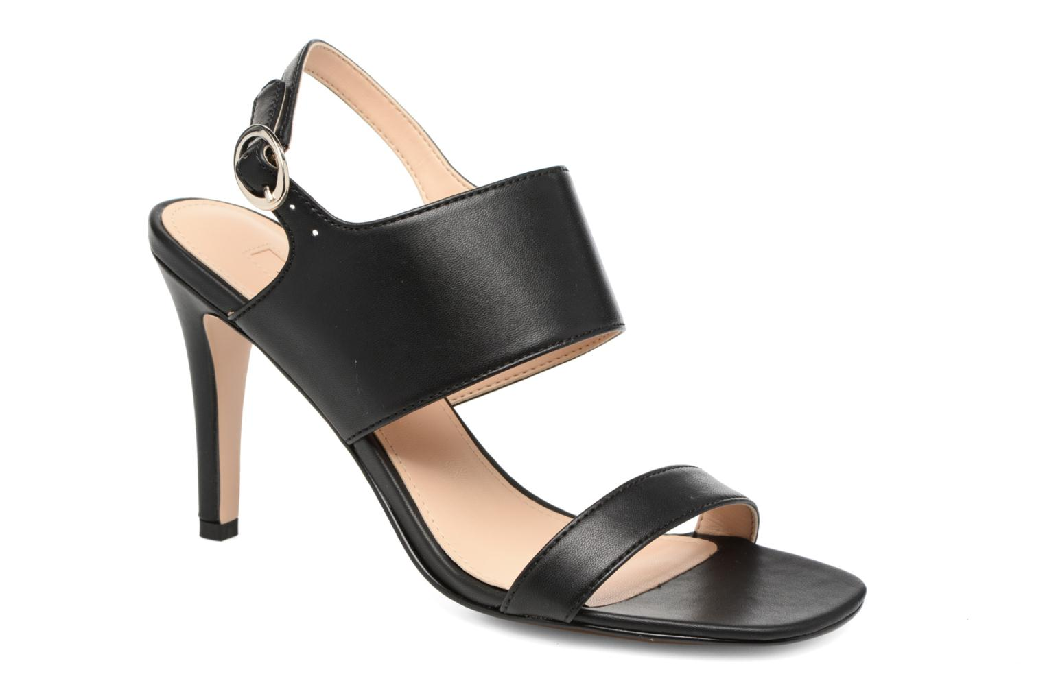 Chany Hi Sandal Black