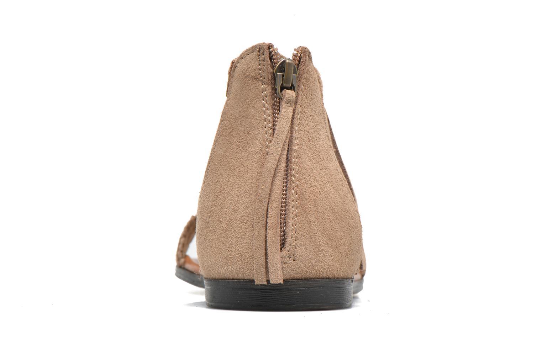 Sandali e scarpe aperte Minnetonka Morocco Beige immagine destra