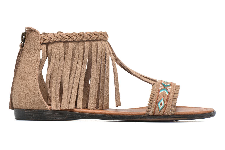 Sandales et nu-pieds Minnetonka Morocco Beige vue derrière