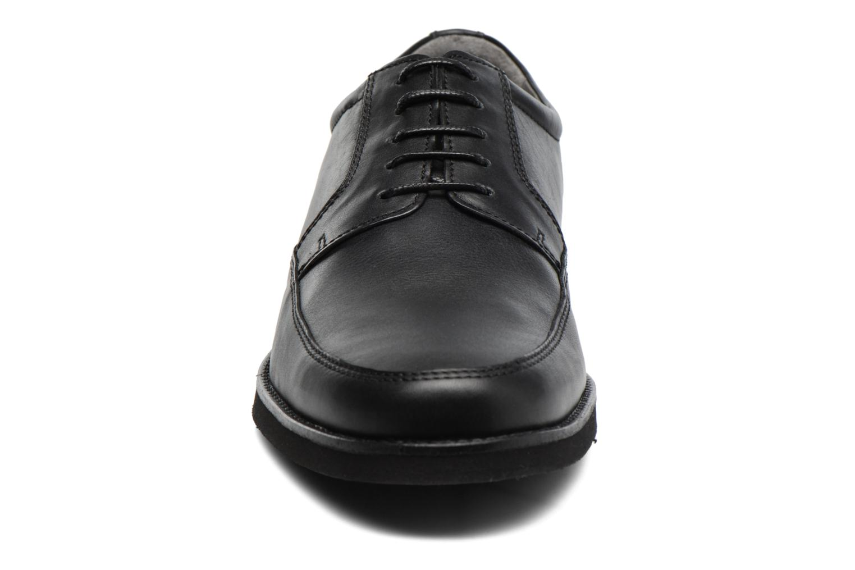 Schnürschuhe Sledgers Emerson schwarz schuhe getragen