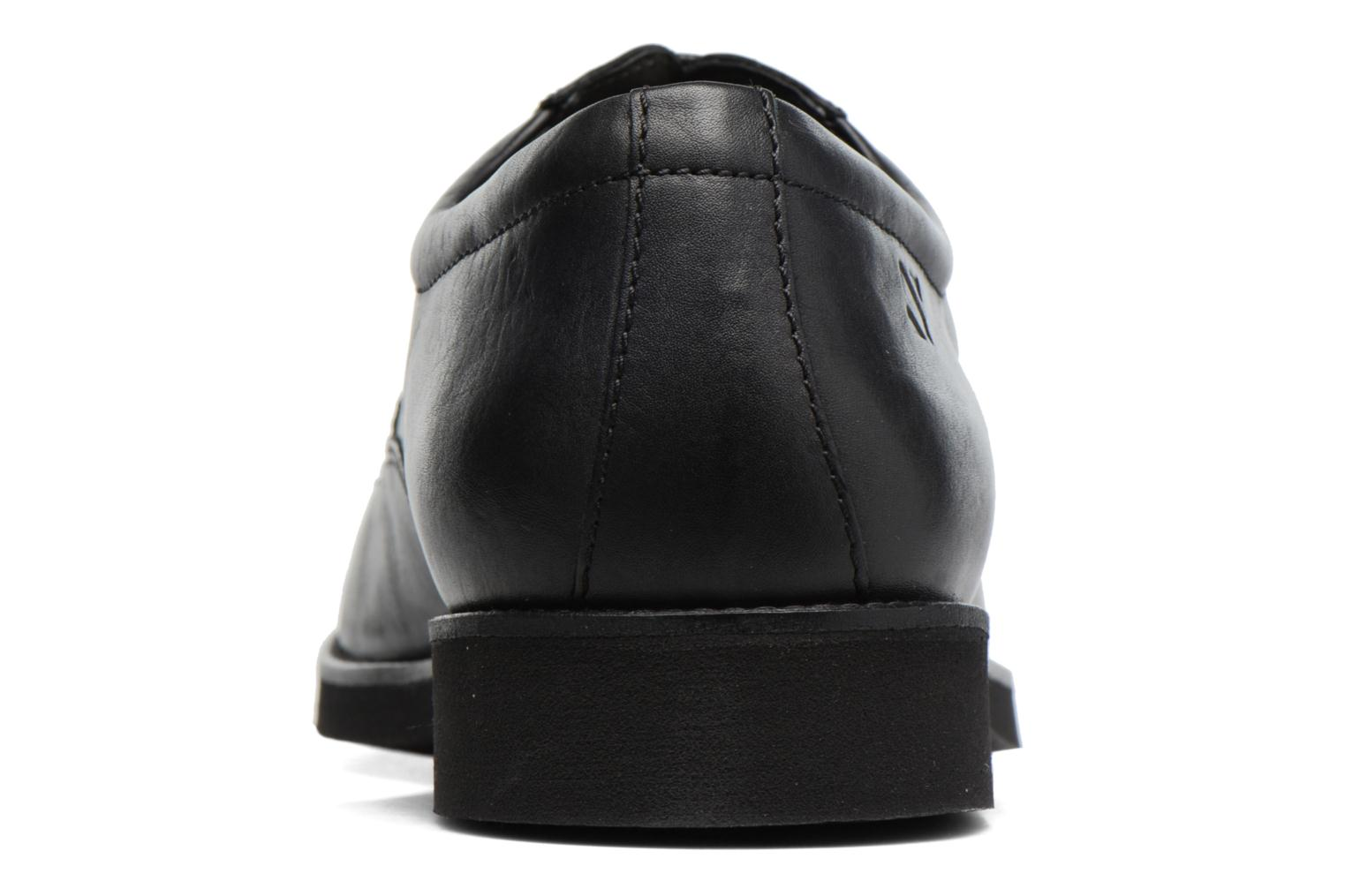 Lace-up shoes Sledgers Emerson Black view from the right