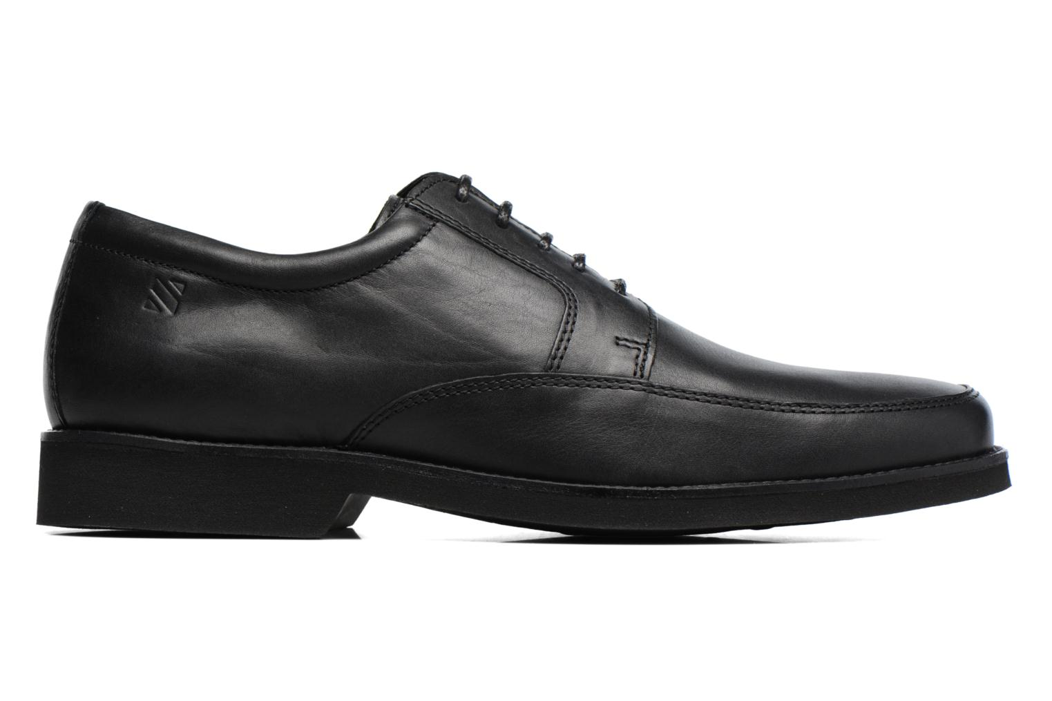 Lace-up shoes Sledgers Emerson Black back view
