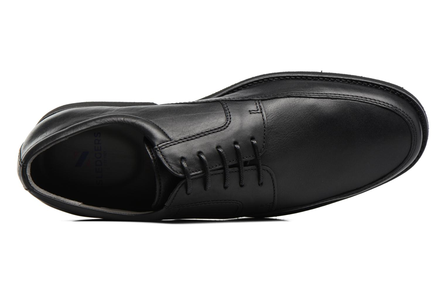 Lace-up shoes Sledgers Emerson Black view from the left