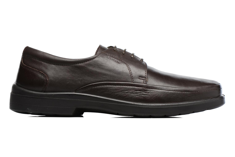 Chaussures à lacets Sledgers Gaf Marron vue derrière