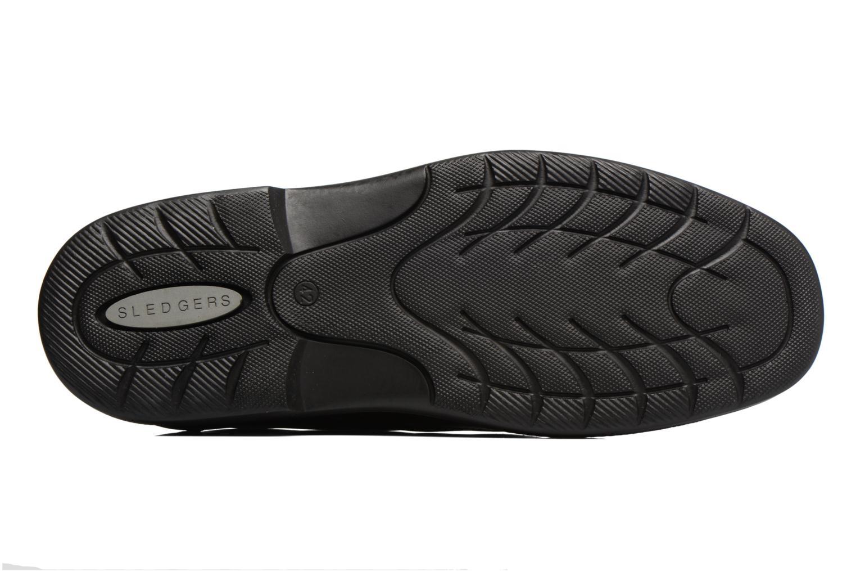 Chaussures à lacets Sledgers Gaf Marron vue haut