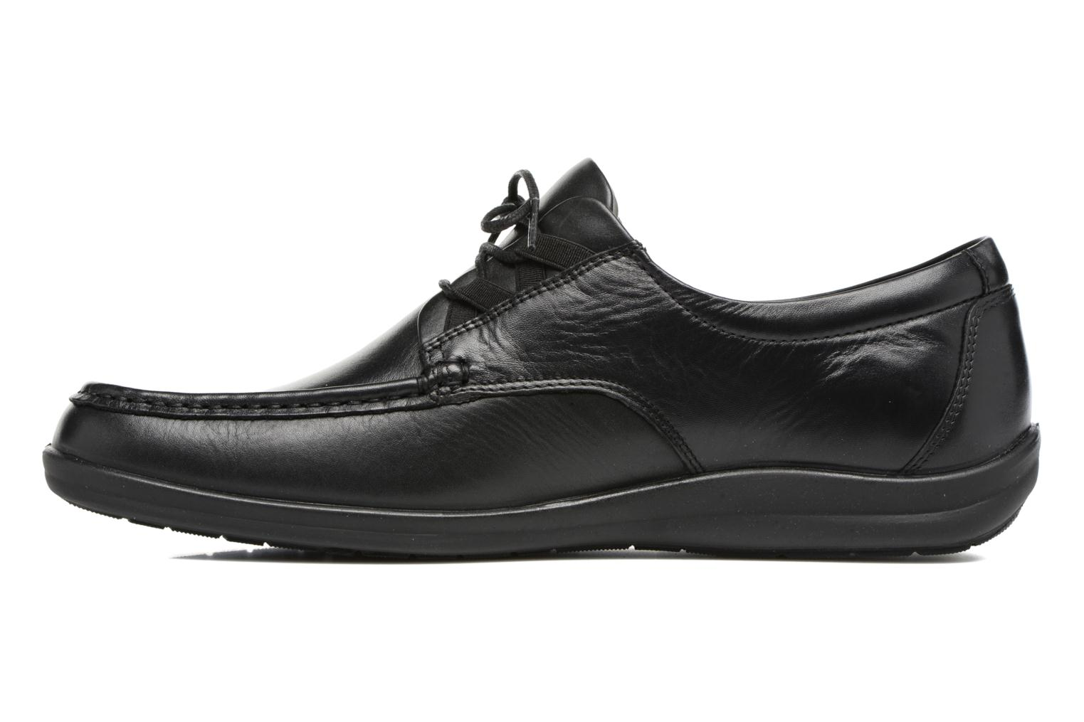 Lace-up shoes Sledgers Gus Black front view
