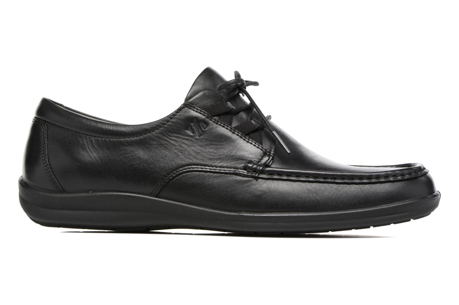 Lace-up shoes Sledgers Gus Black back view