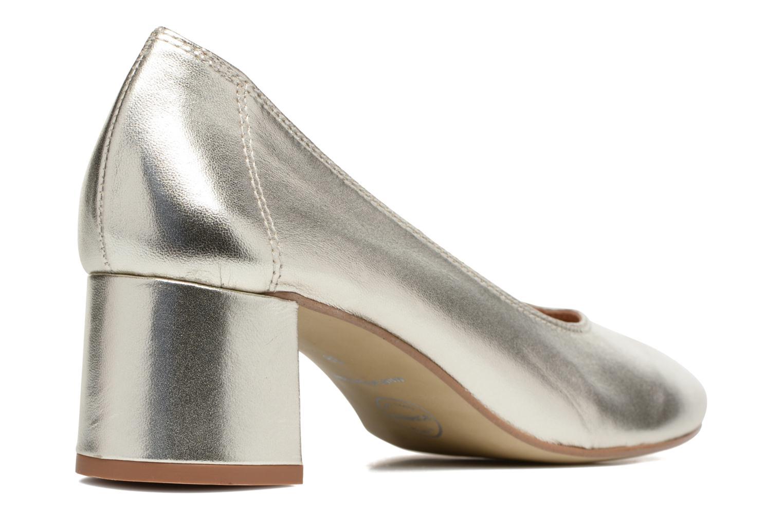 Zapatos de tacón Made by SARENZA Busy Girl Escarpins #4 Plateado vista de frente