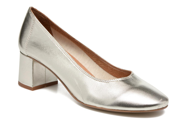 Zapatos de tacón Made by SARENZA Busy Girl Escarpins #4 Plateado vista lateral derecha