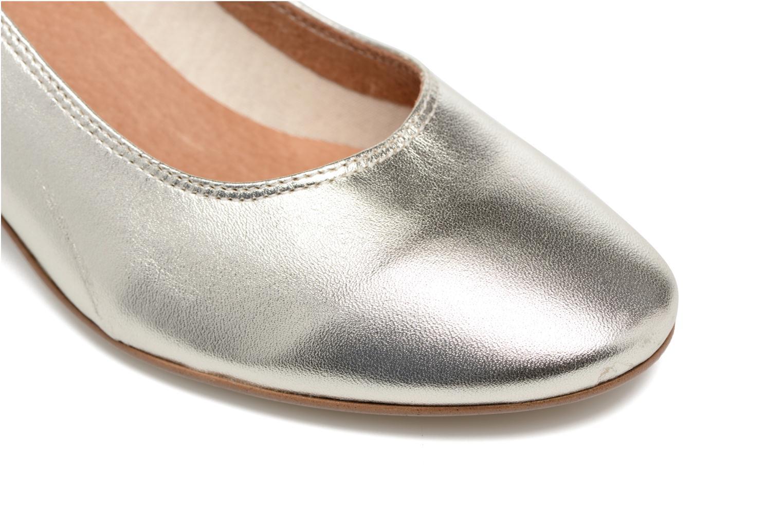 Zapatos de tacón Made by SARENZA Busy Girl Escarpins #4 Plateado vista lateral izquierda
