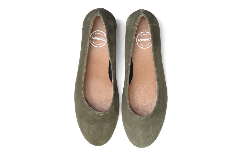 Escarpins Made by SARENZA Busy Girl Escarpins #4 Vert vue portées chaussures