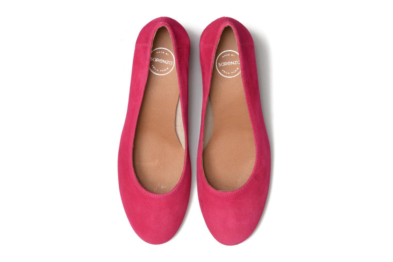 Escarpins Made by SARENZA Busy Girl Escarpins #4 Rose vue portées chaussures