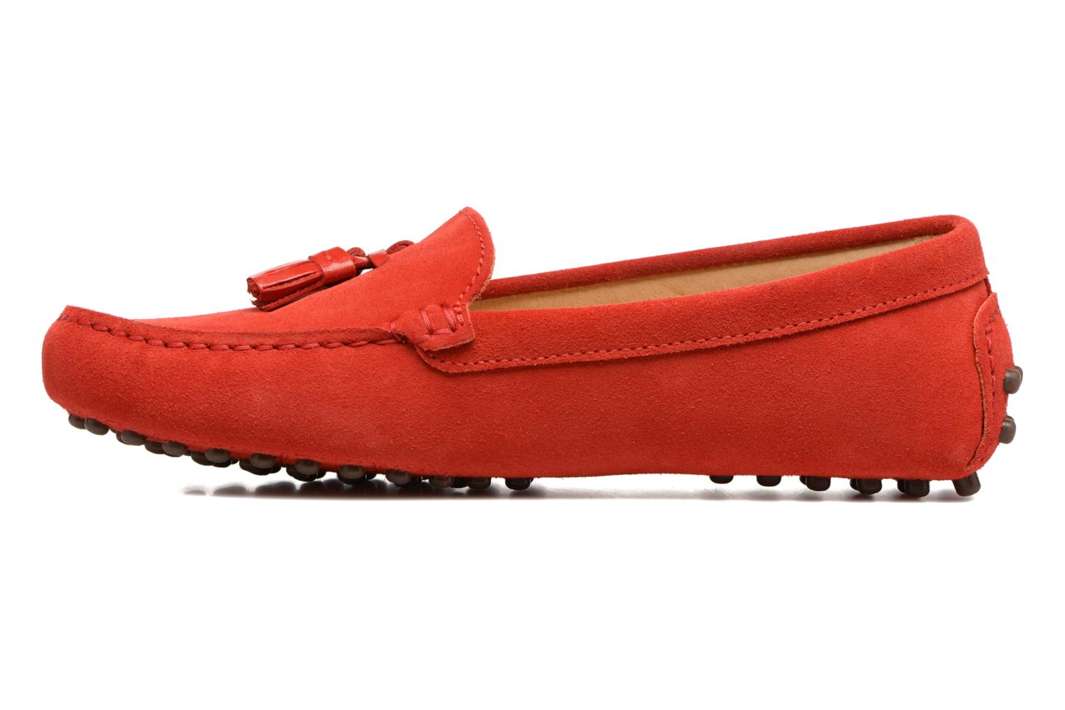 Loafers Georgia Rose Stamou Red front view