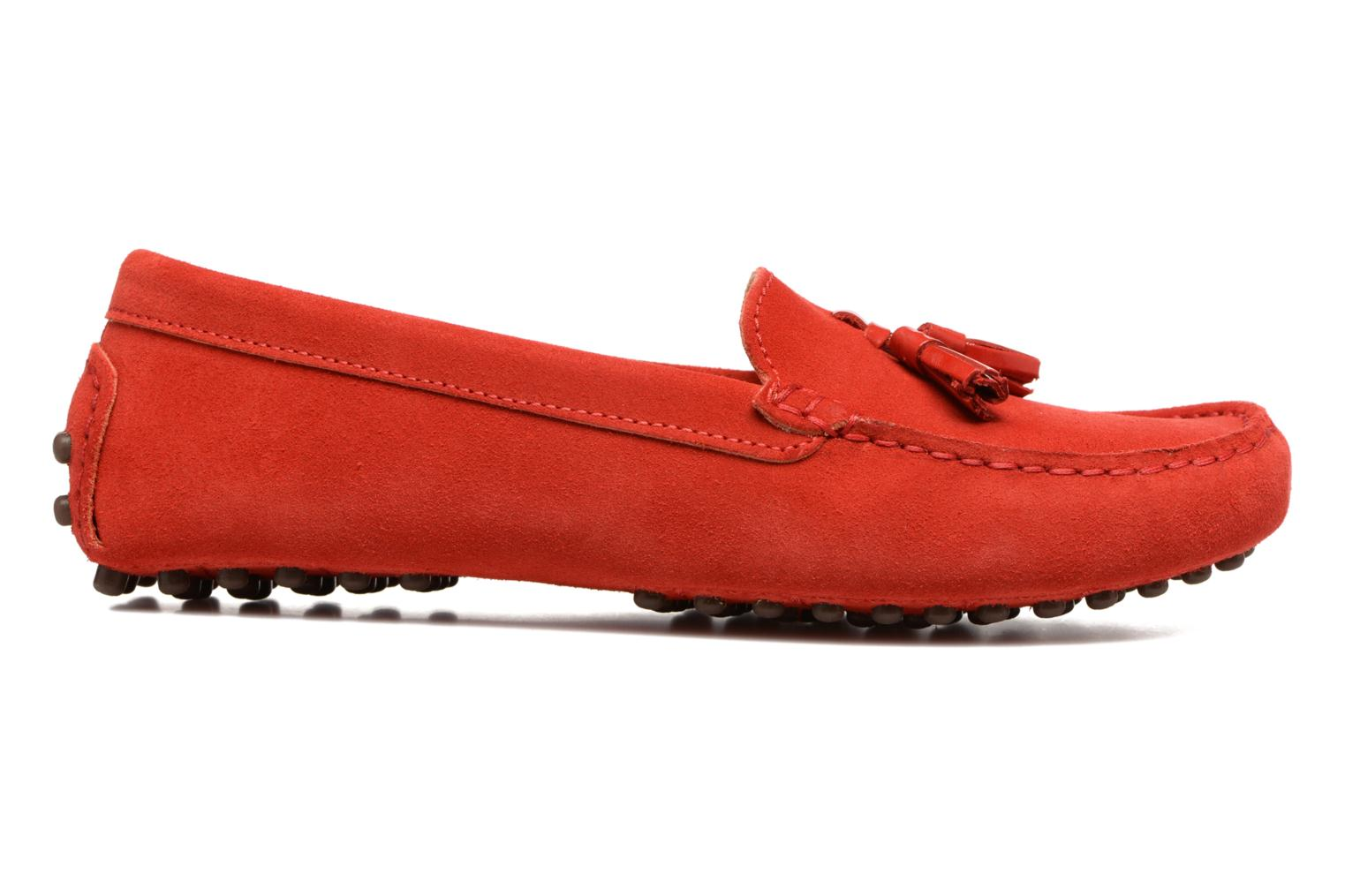 Loafers Georgia Rose Stamou Red back view