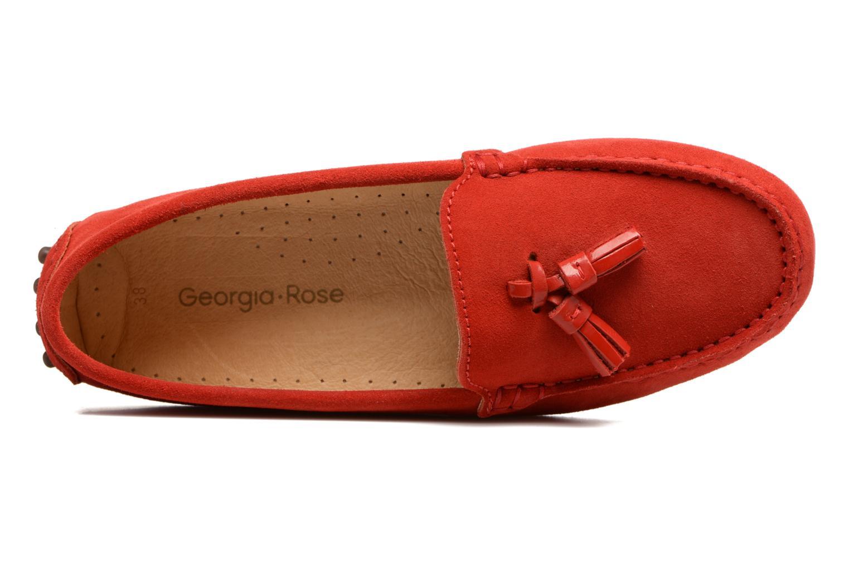 Loafers Georgia Rose Stamou Rød se fra venstre