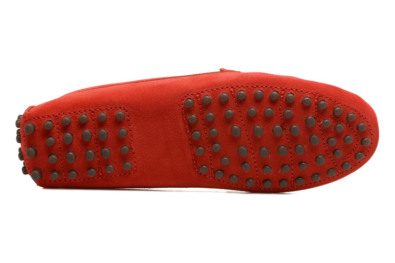 Loafers Georgia Rose Stamou Red view from above