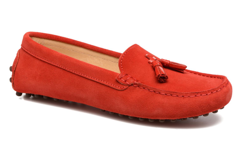 Loafers Georgia Rose Stamou Rød detaljeret billede af skoene