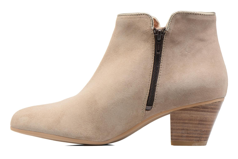 Bottines et boots Georgia Rose Calipo Beige vue face