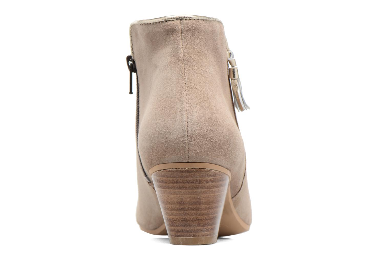 Bottines et boots Georgia Rose Calipo Beige vue droite