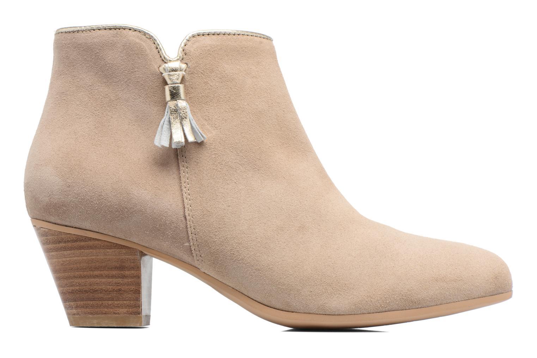 Bottines et boots Georgia Rose Calipo Beige vue derrière