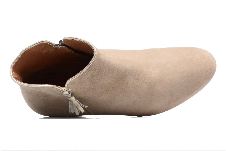 Bottines et boots Georgia Rose Calipo Beige vue gauche