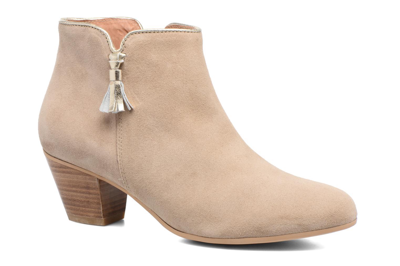 Bottines et boots Georgia Rose Calipo Beige vue détail/paire