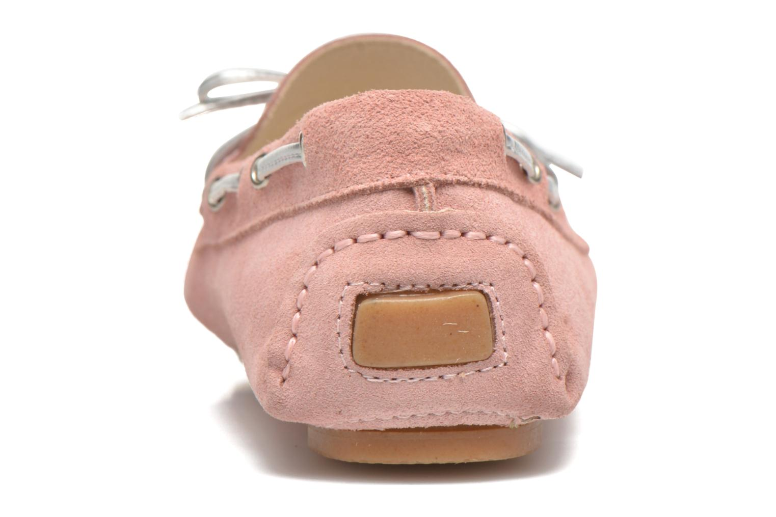 Loafers Georgia Rose Rettac Pink view from the right