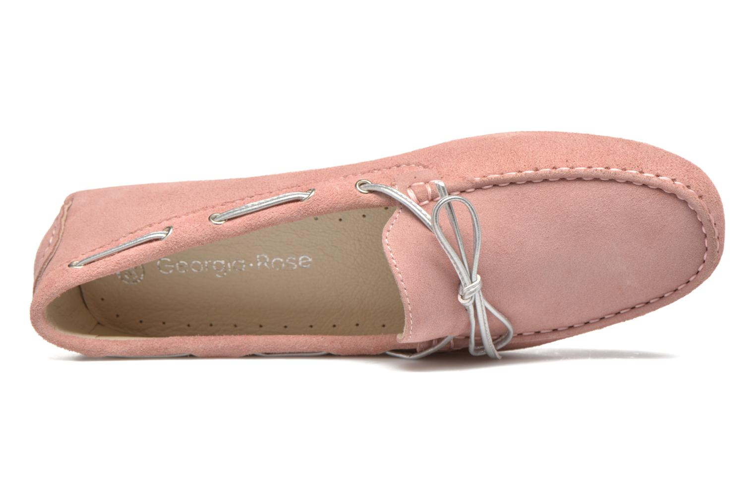 Loafers Georgia Rose Rettac Pink view from the left