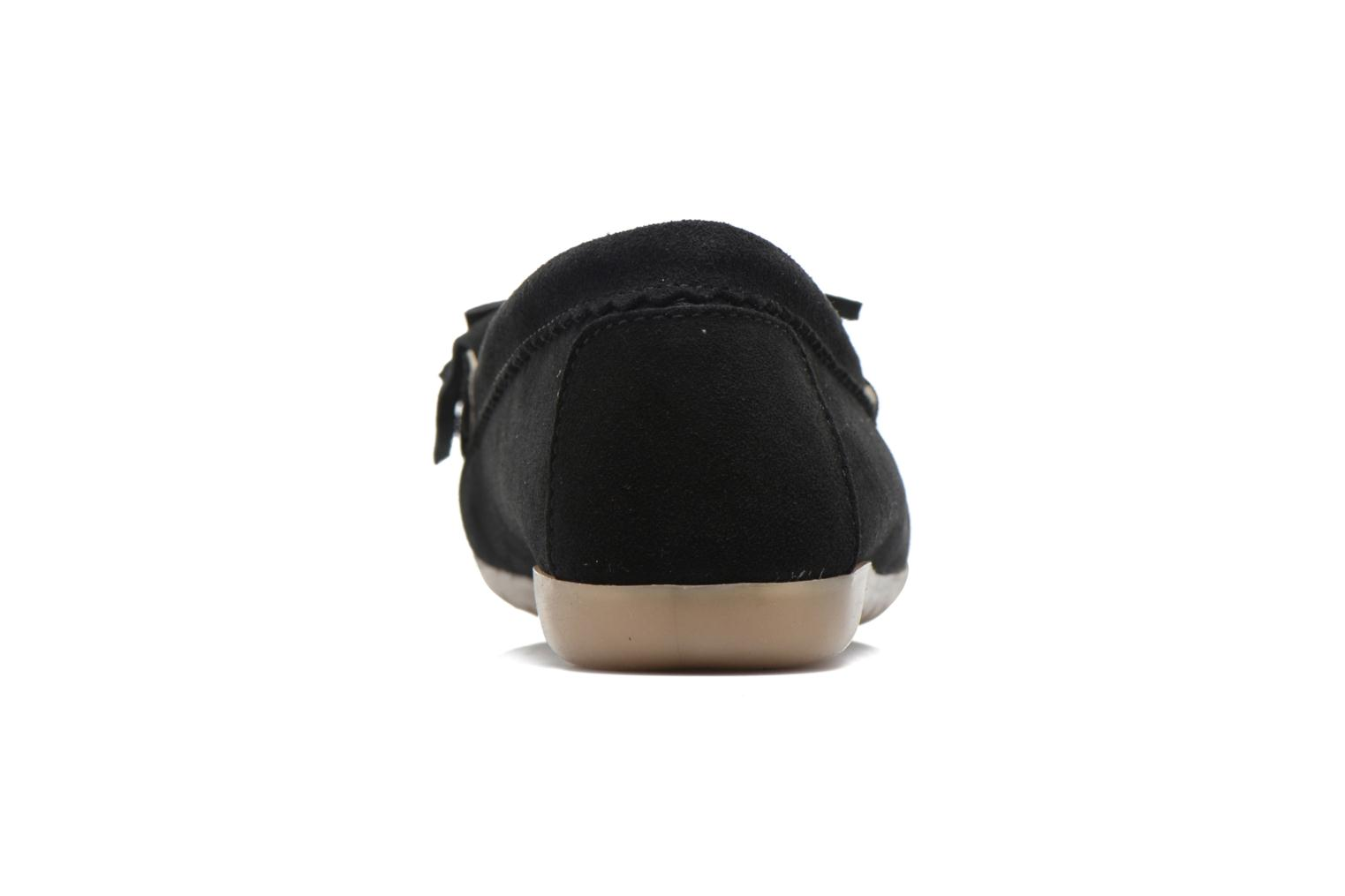 Loafers Georgia Rose Retoumi Black view from the right