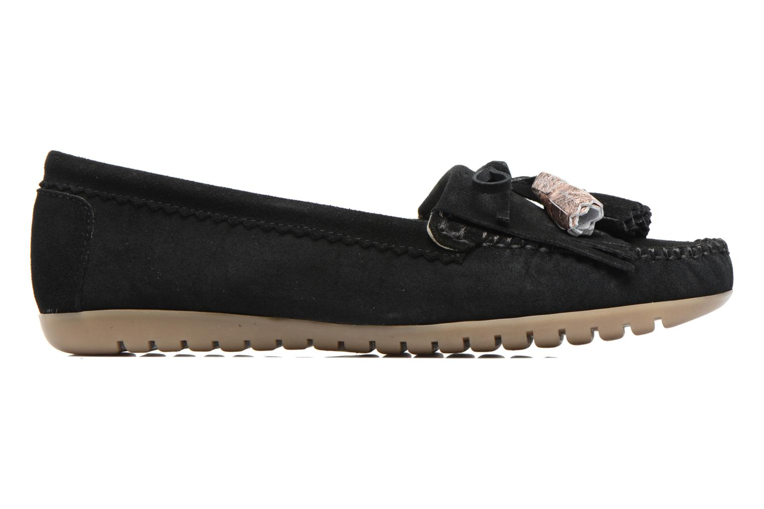 Loafers Georgia Rose Retoumi Black back view