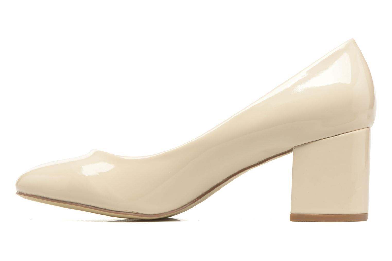 Zapatos de tacón I Love Shoes THATA Size + Beige vista de frente