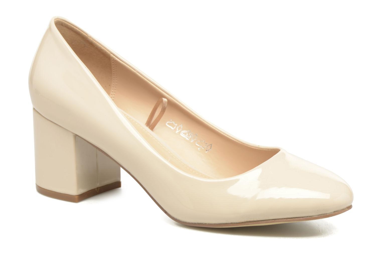 Høje hæle I Love Shoes THATA Size + Beige detaljeret billede af skoene