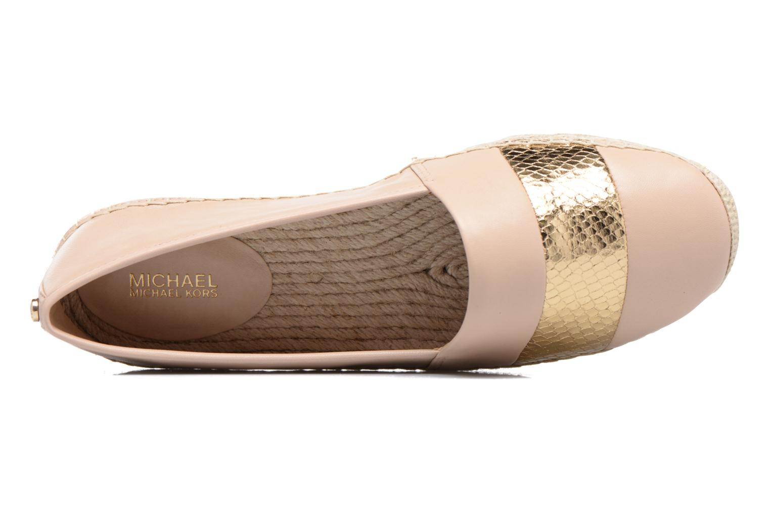 Espadrilles Michael Michael Kors Ivy Slip On Pink view from the left
