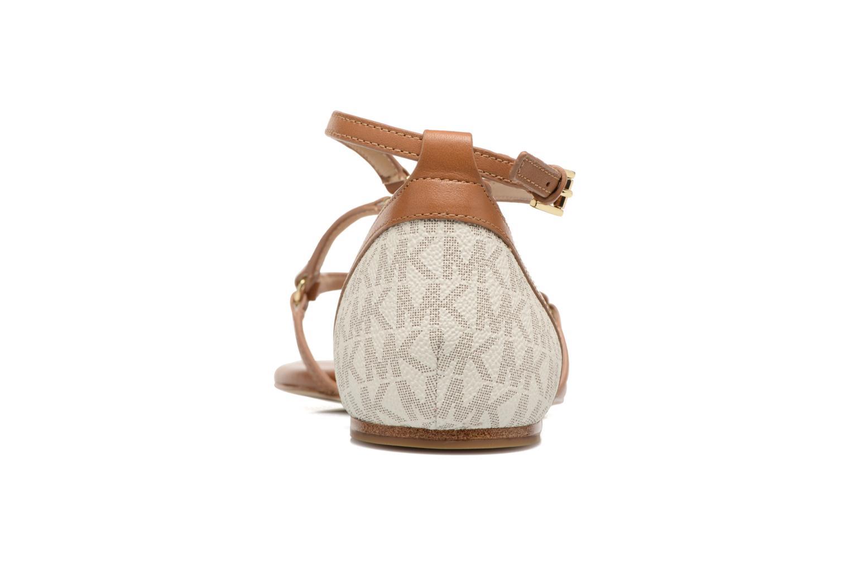 Terri Flat Sandal Vanilla/Acrn