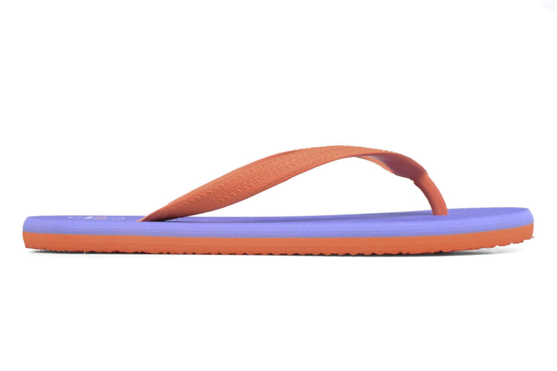 Diya W Tong Flip Flop Orange/Purple