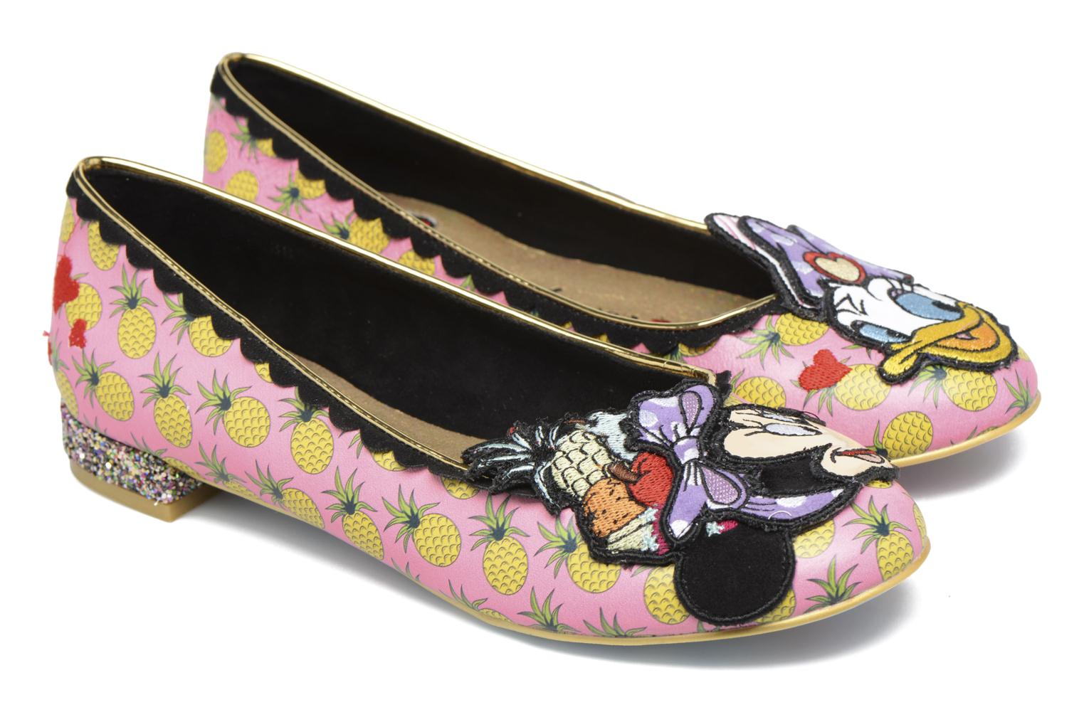 Ballerines Irregular Choice How Do I Look? Multicolore vue 3/4