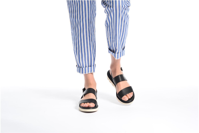 Sandales et nu-pieds Timberland Bailey Park Slingback Noir vue bas / vue portée sac