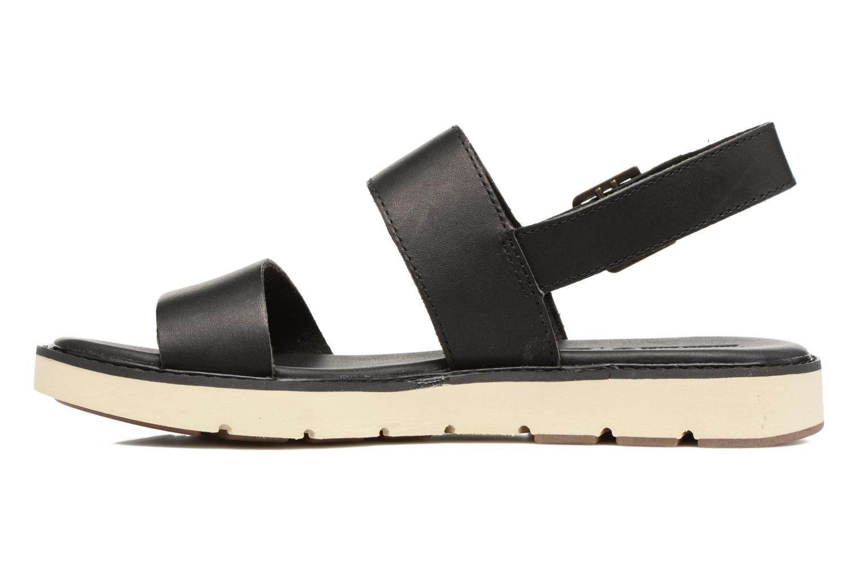 Sandales et nu-pieds Timberland Bailey Park Slingback Noir vue face