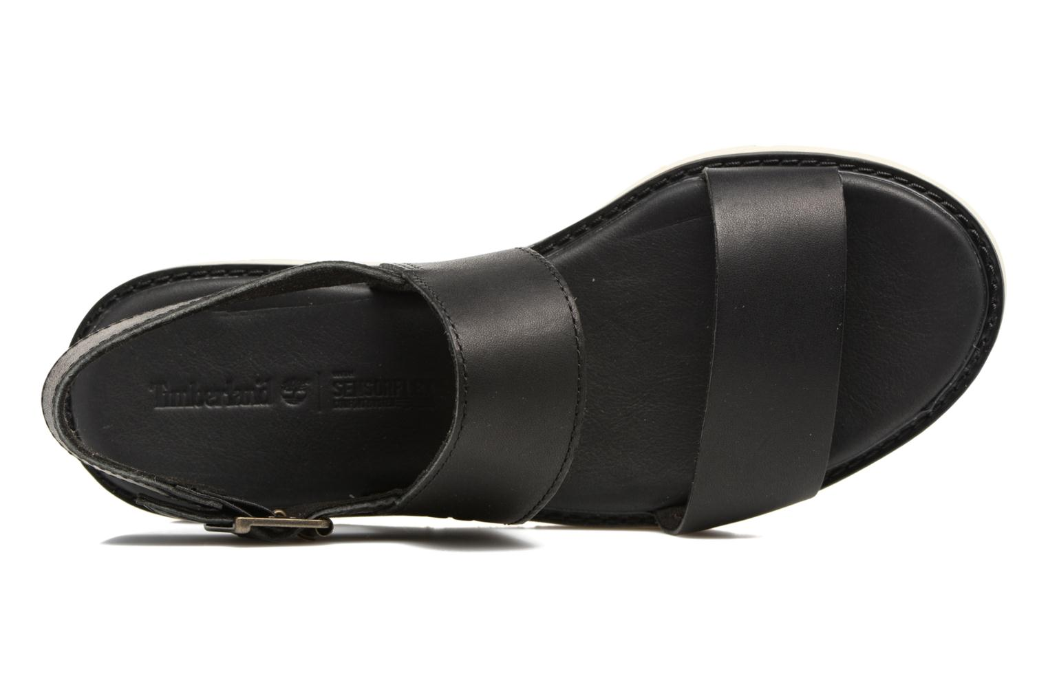 Sandals Timberland Bailey Park Slingback Black view from the left