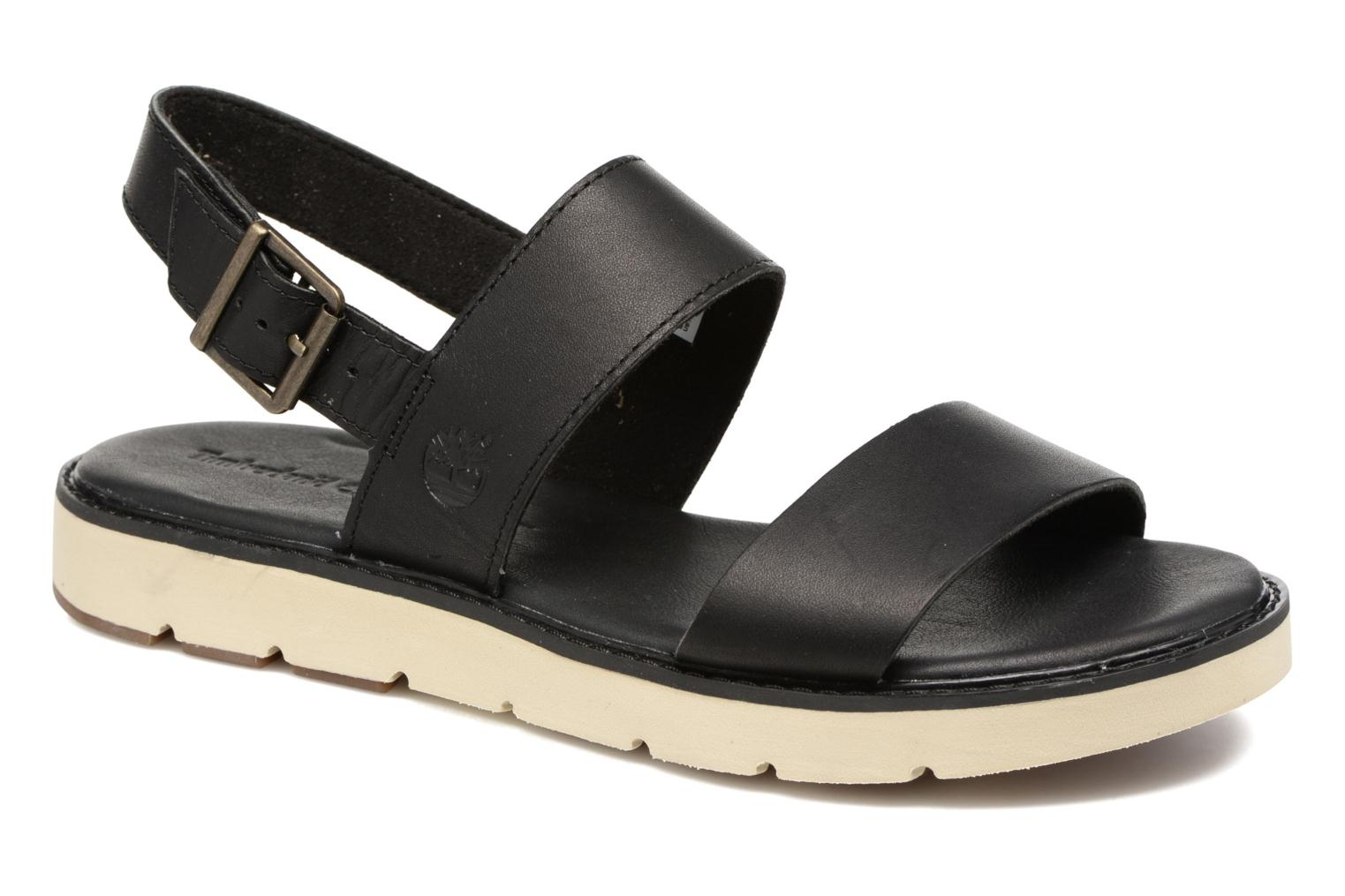 Sandals Timberland Bailey Park Slingback Black detailed view/ Pair view