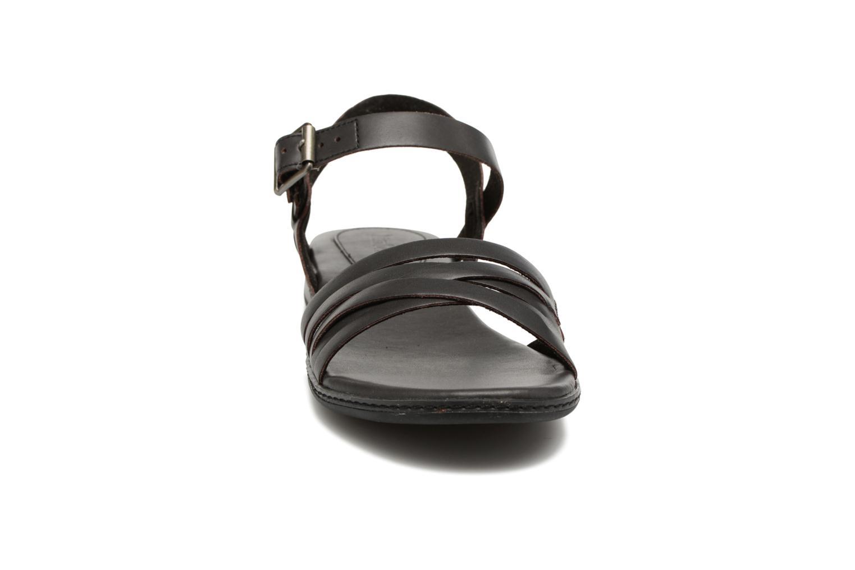 Sandalen Timberland Cherrybrook Ankle Strap schwarz schuhe getragen