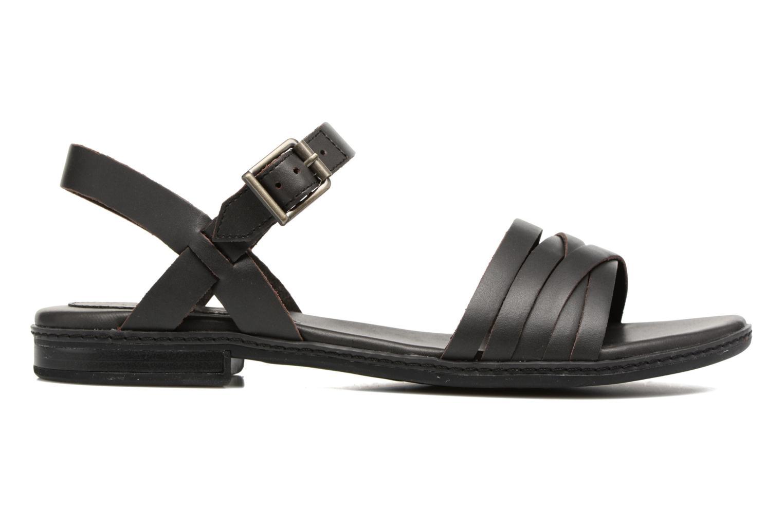 Sandalen Timberland Cherrybrook Ankle Strap schwarz ansicht von hinten