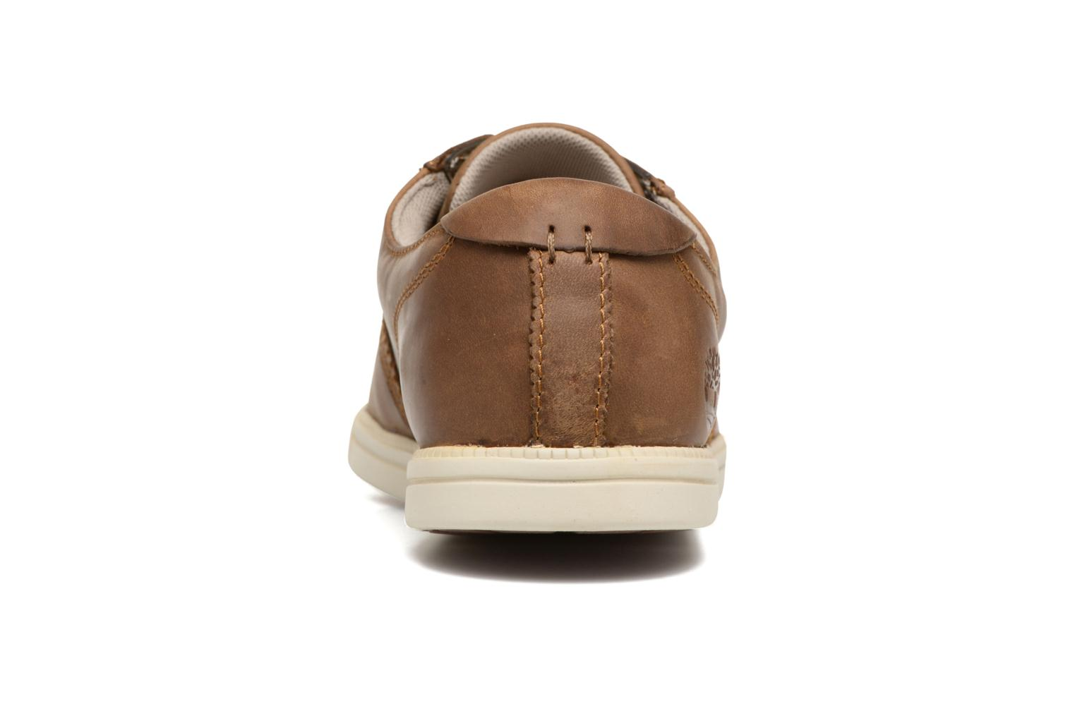 Baskets Timberland Fulk LP Ox Marron vue droite