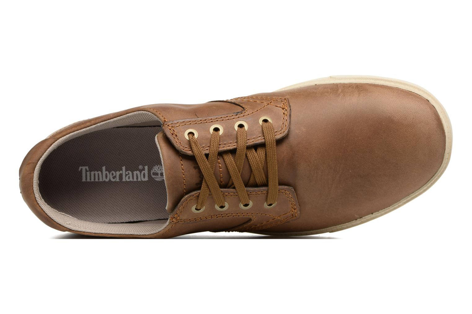 Baskets Timberland Fulk LP Ox Marron vue gauche