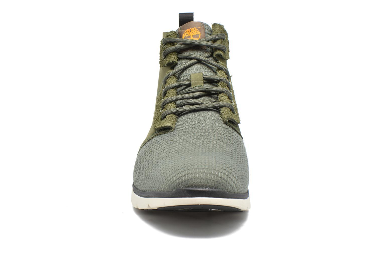 Bottines et boots Timberland Killigton Chukka Vert vue portées chaussures