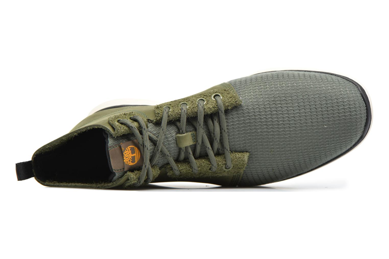 Bottines et boots Timberland Killigton Chukka Vert vue gauche