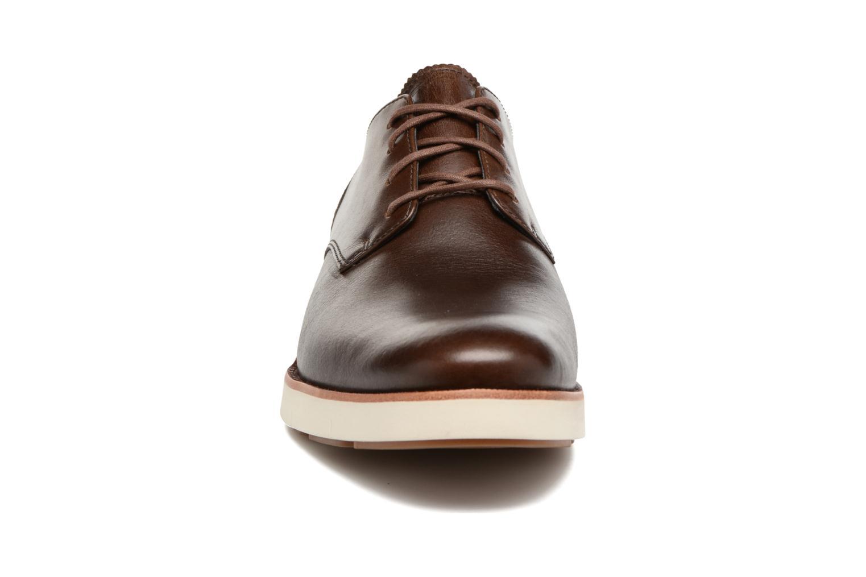 Chaussures à lacets Timberland Preston Hills Perf Ox Marron vue portées chaussures